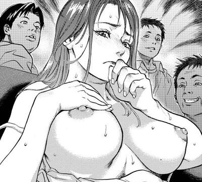 Photo catégorisée avec : Busty, Black and White, Boobs, Hentai